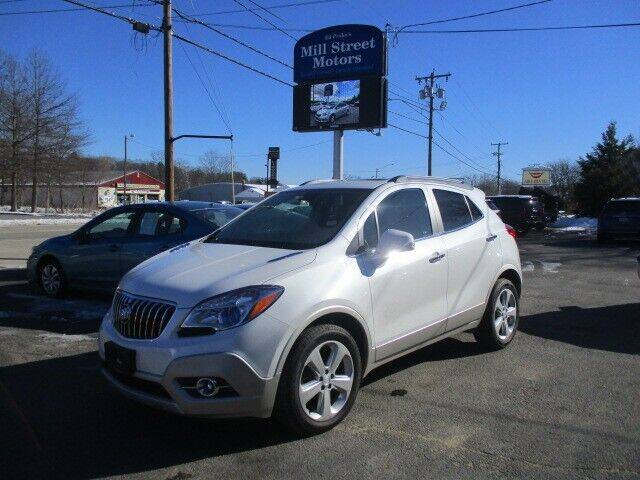 2016 Buick Encore for sale at Mill Street Motors in Worcester MA