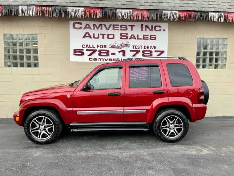 2006 Jeep Liberty for sale at Camvest Inc. Auto Sales in Depew NY