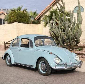 1966 Volkswagen Beetle for sale at Classic Car Deals in Cadillac MI