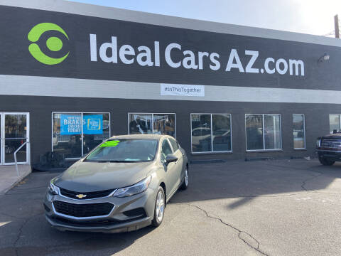 2018 Chevrolet Cruze for sale at Ideal Cars in Mesa AZ
