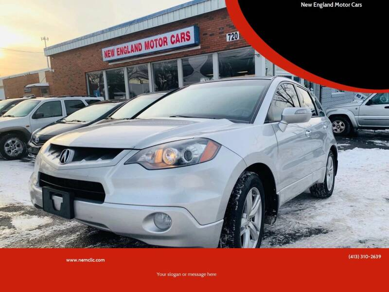 2007 Acura RDX for sale at New England Motor Cars in Springfield MA