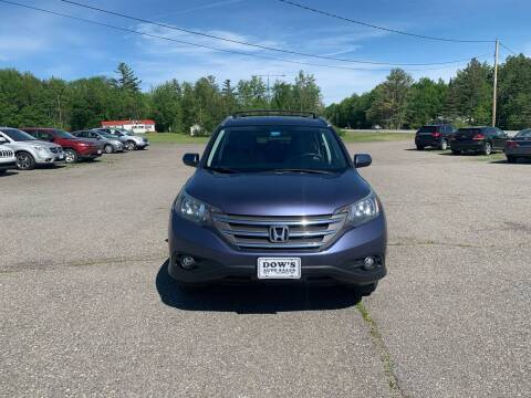 2014 Honda CR-V for sale at DOW'S AUTO SALES in Palmyra ME