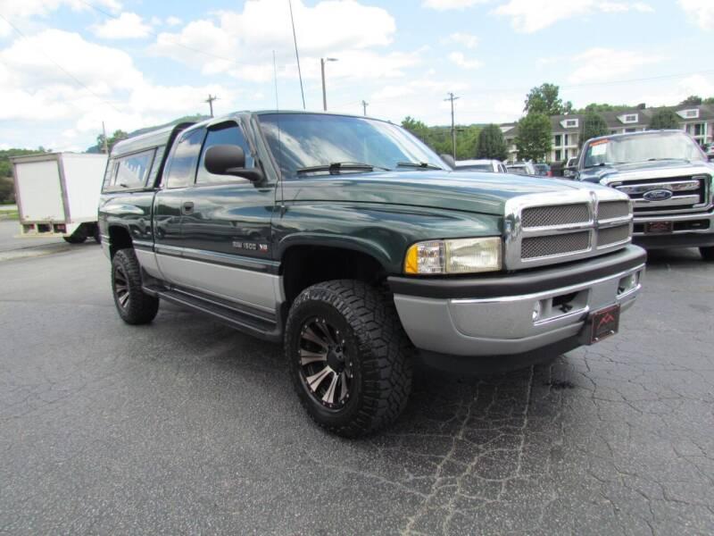 2000 Dodge Ram Pickup 1500 for sale at Hibriten Auto Mart in Lenoir NC