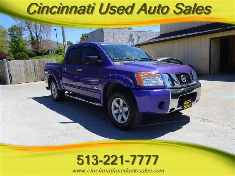 2011 Nissan Titan for sale at Cincinnati Used Auto Sales in Cincinnati OH