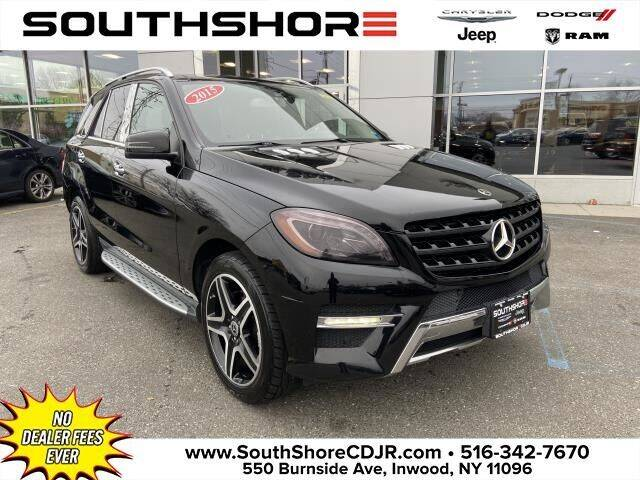 2015 Mercedes-Benz M-Class for sale at South Shore Chrysler Dodge Jeep Ram in Inwood NY