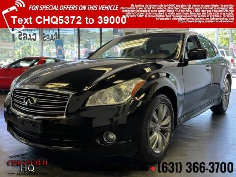 2012 Infiniti M37 for sale at CERTIFIED HEADQUARTERS in Saint James NY