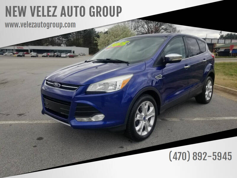 2013 Ford Escape for sale at NEW VELEZ AUTO GROUP in Gainesville GA