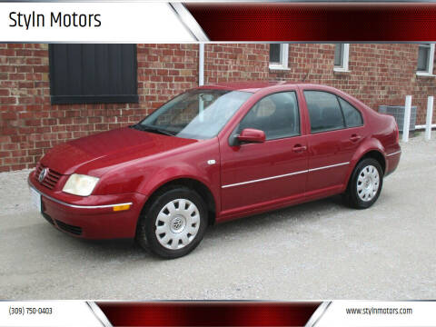 2005 Volkswagen Jetta for sale at Styln Motors in El Paso IL