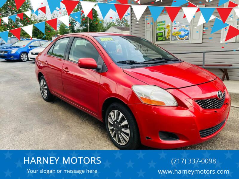 2011 Toyota Yaris for sale at HARNEY MOTORS in Gettysburg PA