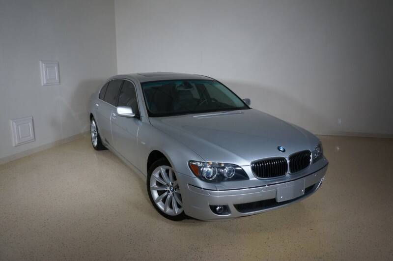 2008 BMW 7 Series for sale at TopGear Motorcars in Grand Prairie TX
