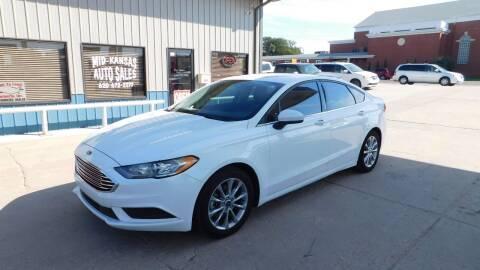 2017 Ford Fusion for sale at Mid Kansas Auto Sales in Pratt KS