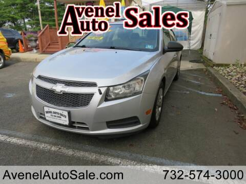 2013 Chevrolet Cruze for sale at Avenel Auto Sales in Avenel NJ