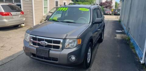 2010 Ford Escape for sale at TC Auto Repair and Sales Inc in Abington MA