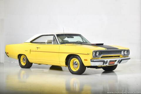 1970 Plymouth Roadrunner for sale at Motorcar Classics in Farmingdale NY