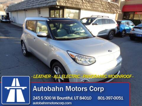 2017 Kia Soul EV for sale at Autobahn Motors Corp in Bountiful UT