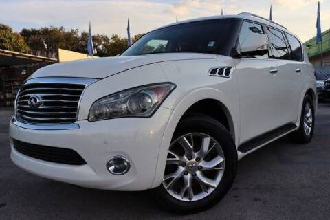 2013 Infiniti QX56 for sale at OCEAN AUTO SALES in Miami FL
