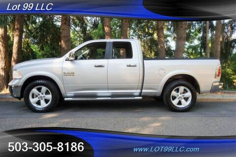2015 RAM Ram Pickup 1500 for sale at LOT 99 LLC in Milwaukie OR