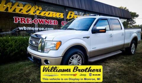 2011 Ford F-150 for sale at Williams Brothers - Pre-Owned Monroe in Monroe MI