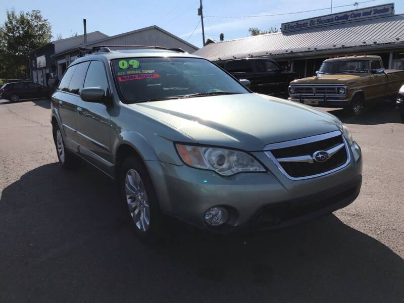 2009 Subaru Outback for sale at HACKETT & SONS LLC in Nelson PA