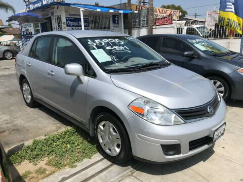 2010 Nissan Versa for sale at Olympic Motors in Los Angeles CA