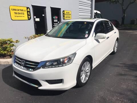 2014 Honda Accord for sale at FLORIDA CAR TRADE LLC in Davie FL
