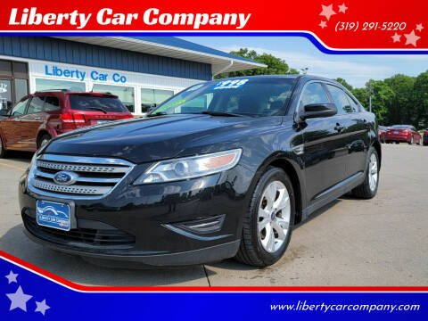 2011 Ford Taurus for sale at Liberty Car Company in Waterloo IA