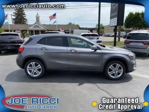 2018 Mercedes-Benz GLA for sale at JOE RICCI AUTOMOTIVE in Clinton Township MI