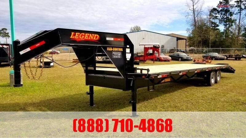 2021 LEGEND 30' Gooseneck 14K Deckover for sale at Montgomery Trailer Sales - LEGEND in Conroe TX