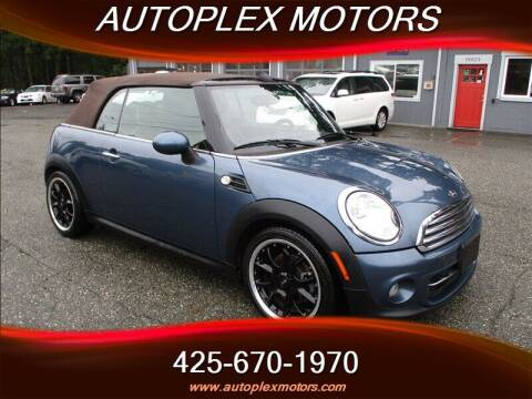 2011 MINI Cooper for sale at Autoplex Motors in Lynnwood WA