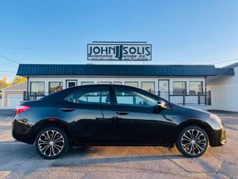 2015 Toyota Corolla for sale at John Solis Automotive Village in Idaho Falls ID