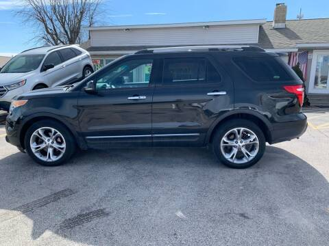 2013 Ford Explorer for sale at Revolution Motors LLC in Wentzville MO