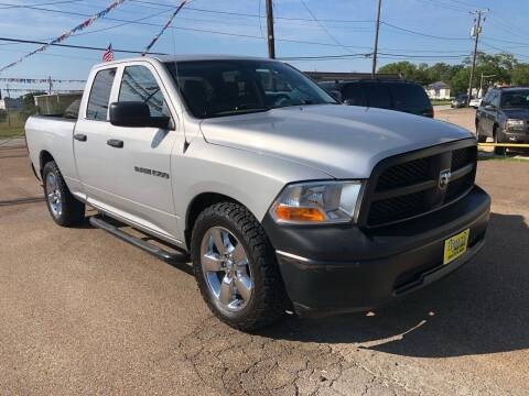 2012 RAM Ram Pickup 1500 for sale at Rock Motors LLC in Victoria TX