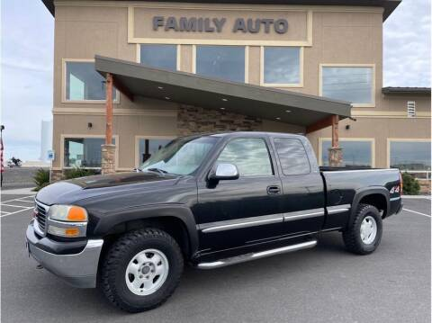2000 GMC Sierra 1500 for sale at Moses Lake Family Auto Center in Moses Lake WA