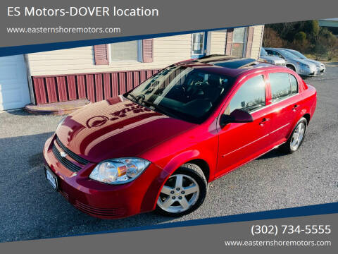2010 Chevrolet Cobalt for sale at ES Motors-DAGSBORO location - Dover in Dover DE