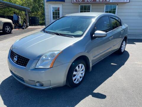 2008 Nissan Sentra for sale at Silver Auto Partners in San Antonio TX