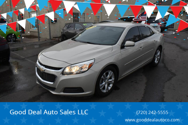 2015 Chevrolet Malibu for sale at Good Deal Auto Sales LLC in Denver CO