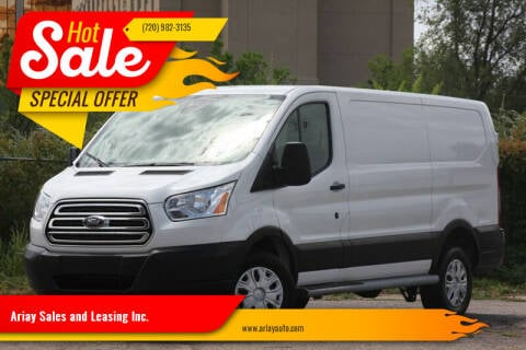 2019 Ford Transit Cargo for sale at Ariay Sales and Leasing Inc. - Pre Owned Storage Lot in Glendale CO