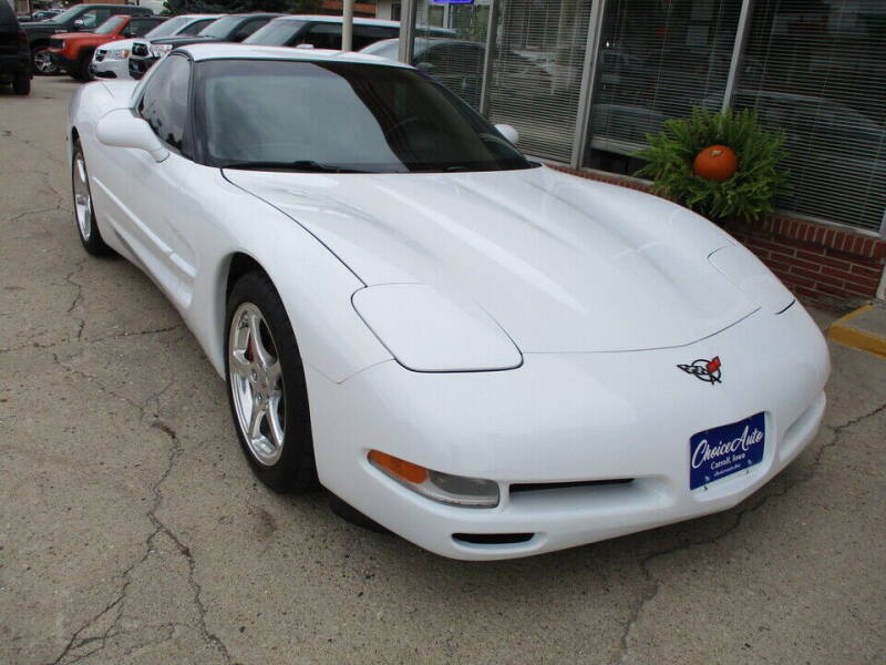 1998 Chevrolet Corvette for sale at Choice Auto in Carroll IA