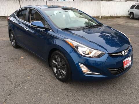 2015 Hyundai Elantra for sale at B & M Auto Sales INC in Elizabeth NJ