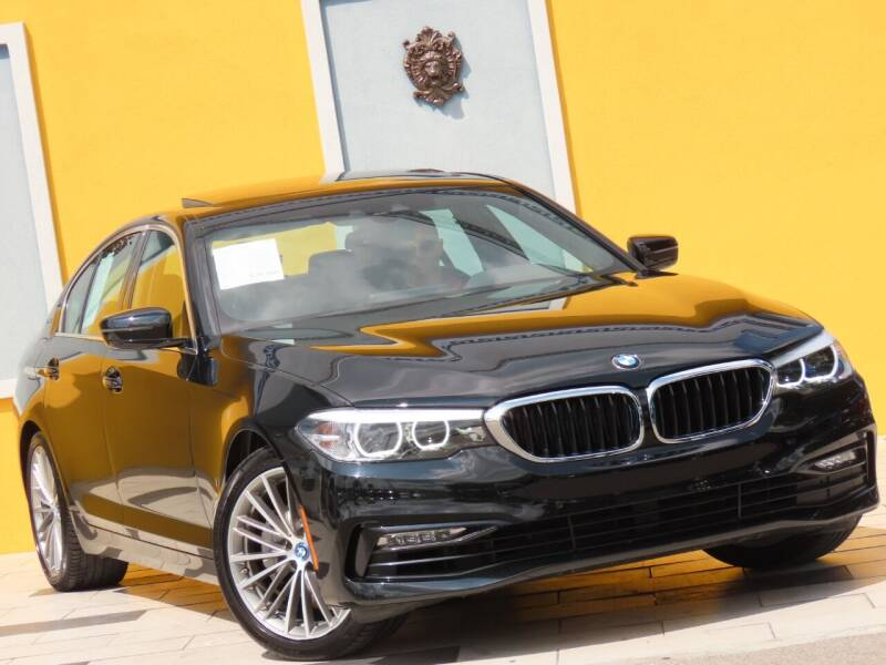 2018 BMW 5 Series for sale at Paradise Motor Sports LLC in Lexington KY