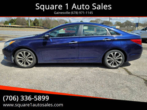 2013 Hyundai Sonata for sale at Square 1 Auto Sales - Commerce in Commerce GA