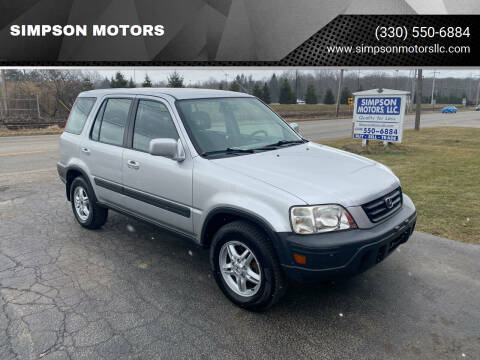 2000 Honda CR-V for sale at SIMPSON MOTORS in Youngstown OH