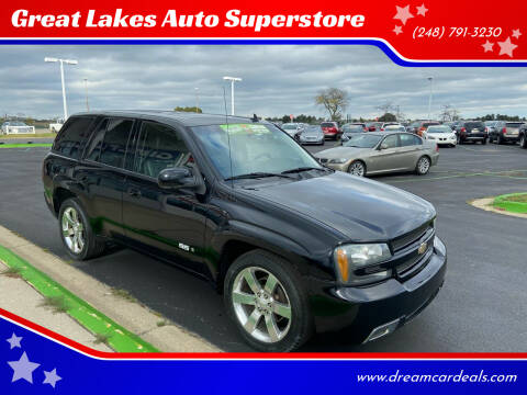 2008 Chevrolet TrailBlazer for sale at Great Lakes Auto Superstore in Waterford Township MI