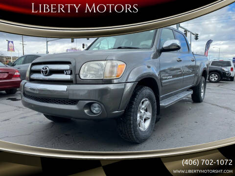 2006 Toyota Tundra for sale at Liberty Motors in Billings MT