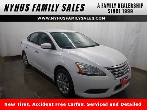 2015 Nissan Sentra for sale at Nyhus Family Sales in Perham MN