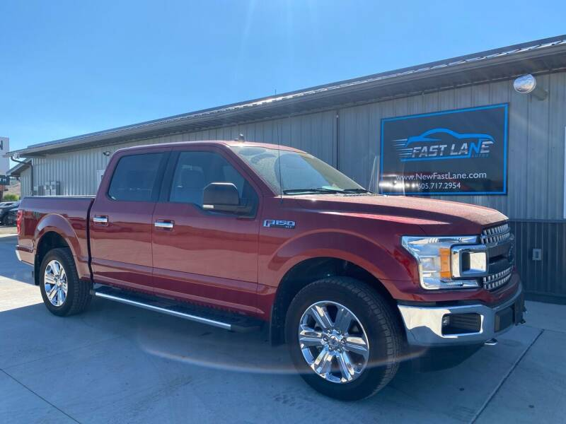 2019 Ford F-150 for sale at FAST LANE AUTOS in Spearfish SD