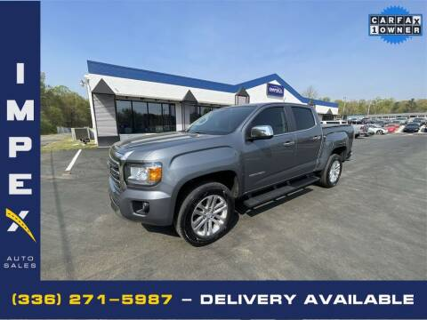 2019 GMC Canyon for sale at Impex Auto Sales in Greensboro NC