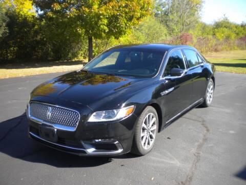 2018 Lincoln Continental for sale at AUTO MART in Oshkosh WI