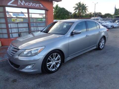 2012 Hyundai Genesis for sale at Z MOTORS INC in Hollywood FL