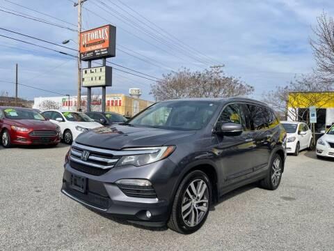 2017 Honda Pilot for sale at Autohaus of Greensboro in Greensboro NC